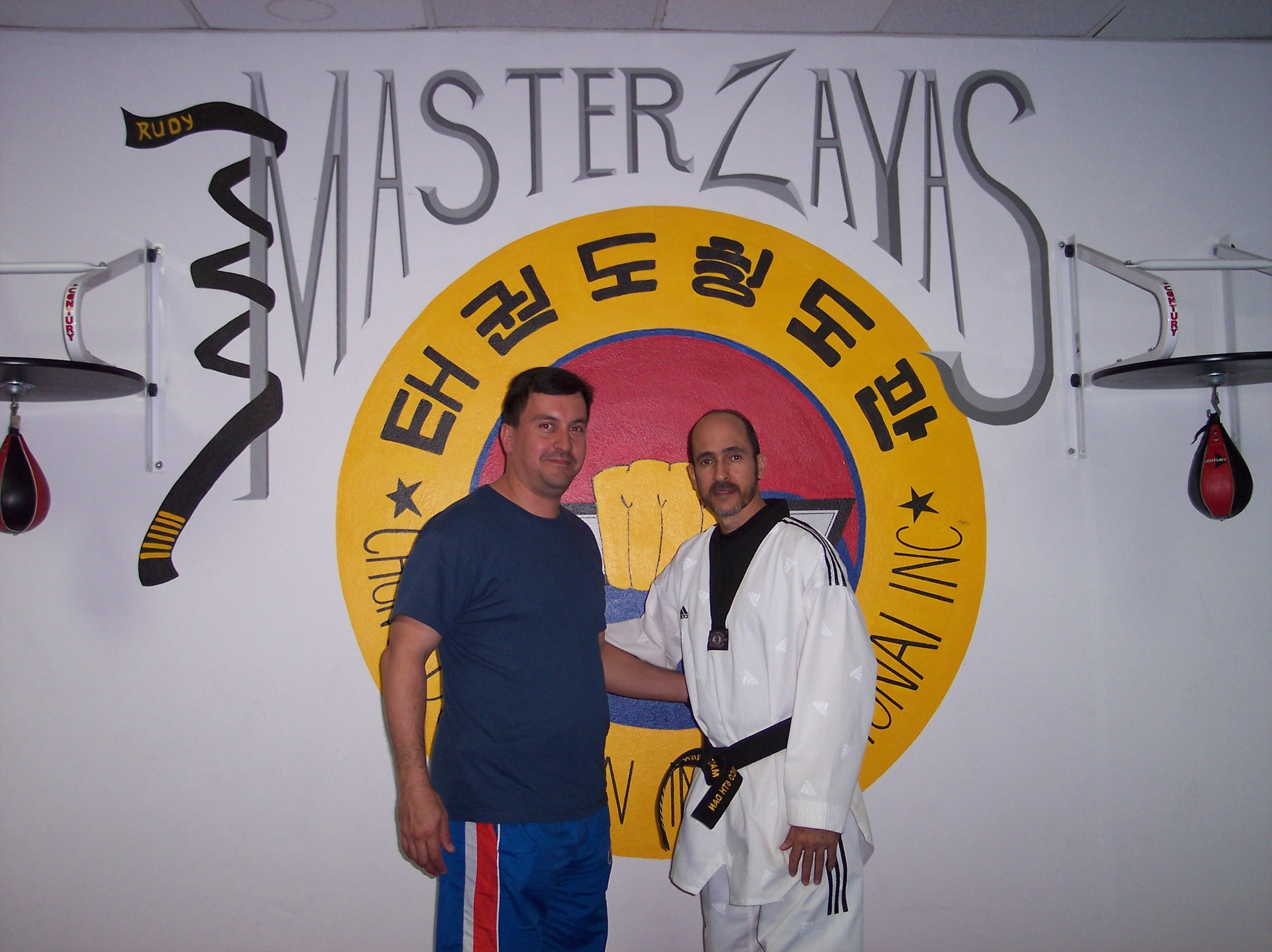 Master Zayas (Right) and Master Victor Fontanez (Left)
